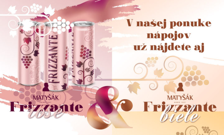 Frizzante White a Rose: víno v plechovke s vlastnou potlačou